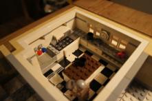 Lego Cluedo kitchen
