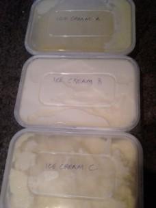 Ice cream tubs