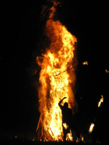 Bonfire man
