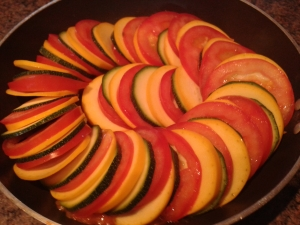 Ratatouille dish