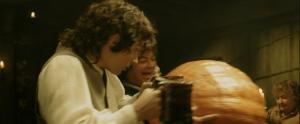 Frodo and Pumpkin