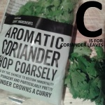 C is for Coriander