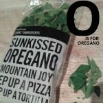 O is for Oregano