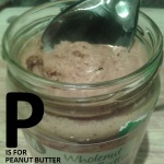 P is for Peanut Butter