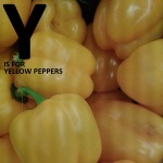 Y is for Yellow Peppers