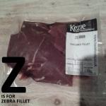 Z is for Zebra Fillet