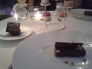 Helene Darroze chocolate dessert