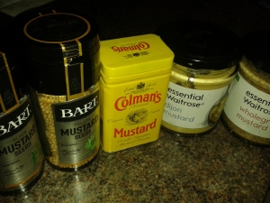 Different mustards