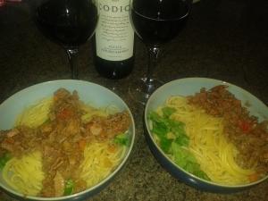 England Italy Spaghetti