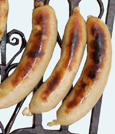 Sausage type pudding
