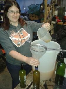 Bottling juice