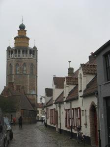 Outside Bruges Volkskundemuseum