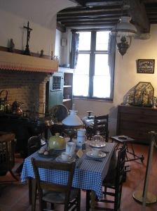 Traditional Flemish cottage