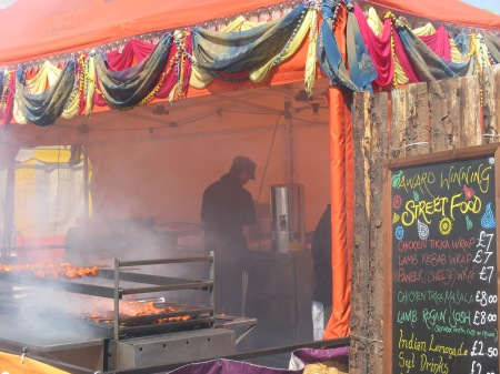 Glastonbury Naan Wraps